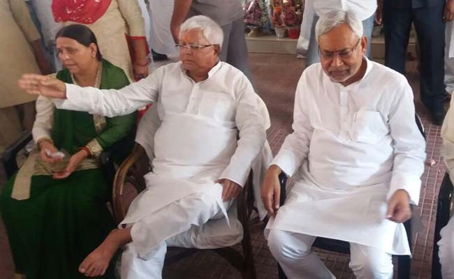 'Forgive Me': Minutes Before He Quit, Nitish Kumar Phoned Lalu Yadav
