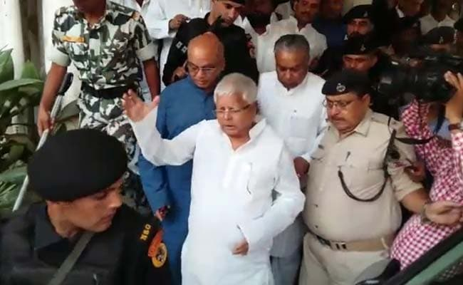 Lalu Prasad Thanks Ram Vilas Paswan For Liking His Tweet On Bihar's Growth Rate