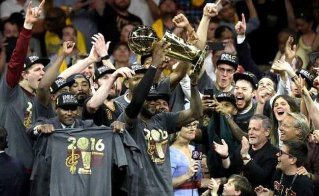 NBA लीग: लब्रॉ जेम्स की मदद से क्लीवलैंड कैवलियर्स बना चैंपियन