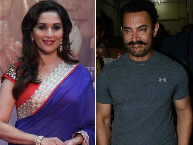 When Madhuri Dixit 'Chased' Aamir Khan With a Hockey Stick