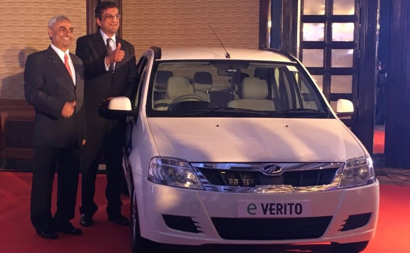 Mahindra eVerito Launched; Prices Start at ₹ 9.50 Lakh