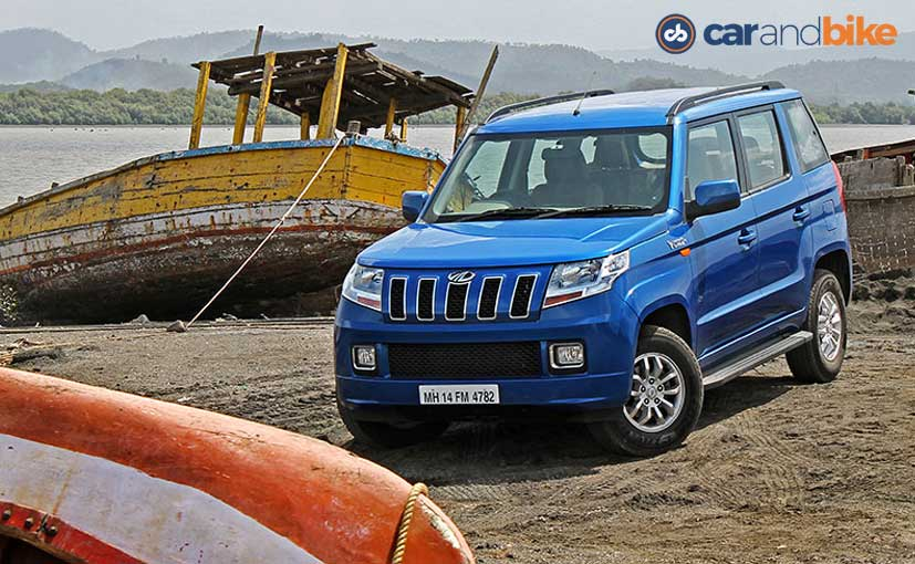 8c64bd1c8 Mahindra TUV300 Price in India