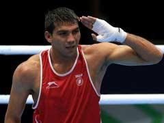 रियो (मुक्केबाजी): मनोज कुमार उज्बेकिस्तान के फजलीद्दीन गैब्नाजरॉफ से हारे, पदक दौड़ से बाहर
