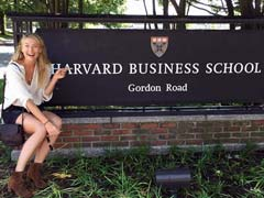 Maria Sharapova Is Spending Part Of Her Suspension At Harvard Business School