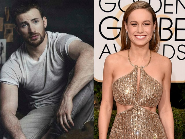 Chris Evans Hopes to See 'Phenomenal' Brie Larson as Captain Marvel