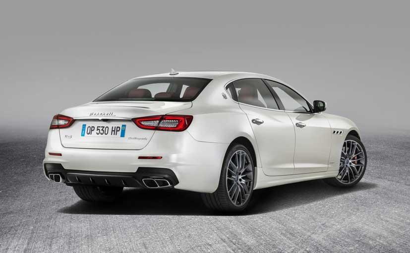 Maserati Quattroporte GTS GranSport Rear