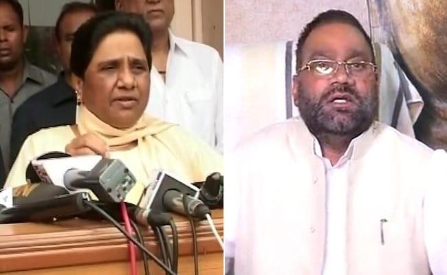 Mayawati Is 'Scared', Says Swami Prasad Maurya After Her 'Traitor' Remark