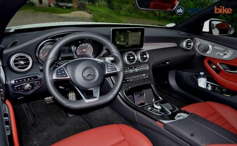 Mercedes-Benz C300 Cabriolet Dashboard