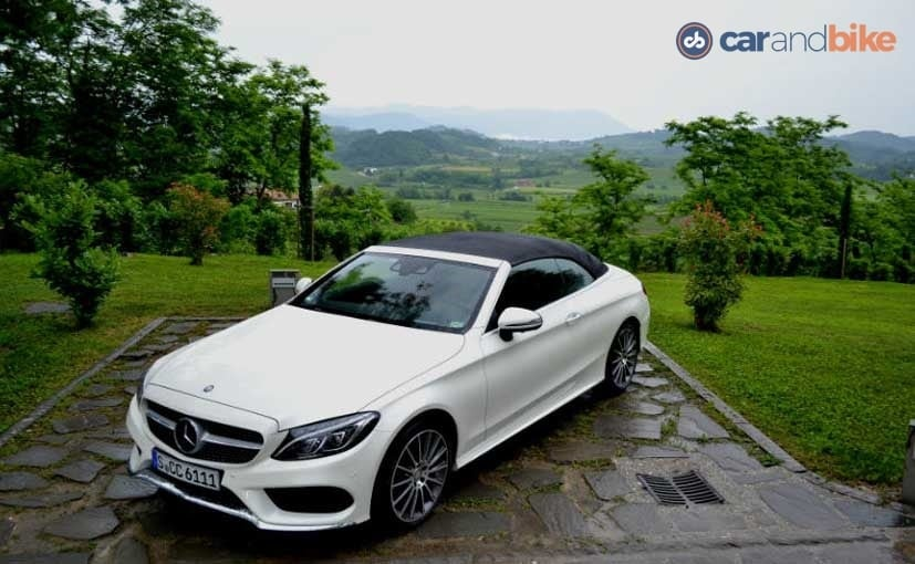Mercedes-Benz C300 Cabriolet First Drive Review