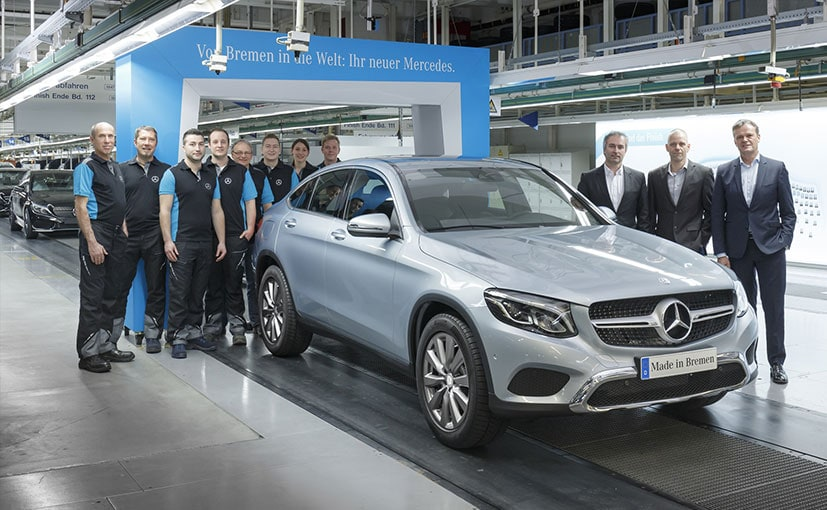 Mercedes-Benz GLC Coupe's Production Begins in Germany