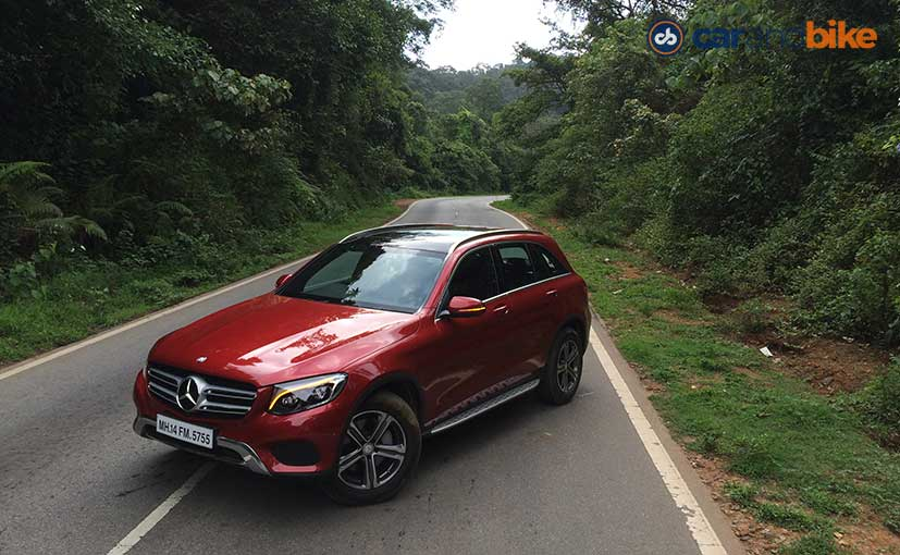 2016 mercedes benz glc launched prices start at rs 50 7 for Mercedes benz prices in india