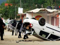 Mexico Teacher Protests Buffet Ruling Party, 8 Killed In Clashes