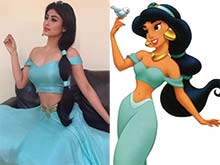 Mouni Roy Stops Instagram Traffic Dressed as Princess Jasmine