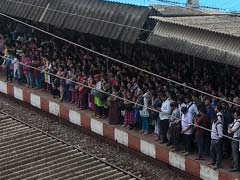 Mumbai Trains Hit By Rain, Anger Pours On Twitter