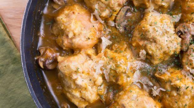 Mushroom Kofta in Tomato Gravy
