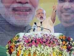 जब पार्टी नेताओं का शुक्रिया अदा करते वक्त प्रधानमंत्री नरेंद्र मोदी का गला भर आया...