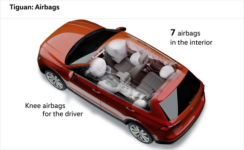 New Volkswagen Tiguan Safety Features