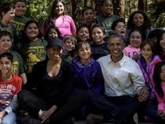 Barack Obama Extols US National Parks In Picture Perfect Social Media Moments
