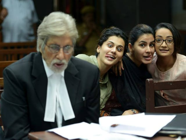 Filming PINK Was 'Wonderful' For This Actress, Courtesy Amitabh Bachchan