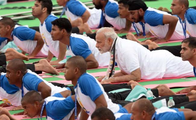 'Can Yoga Relieve Pain Of Inflation?' Shiv Sena's Jibe At PM Narendra Modi