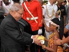 Pranab Mukherjee Becomes First Indian President To Visit Ghana