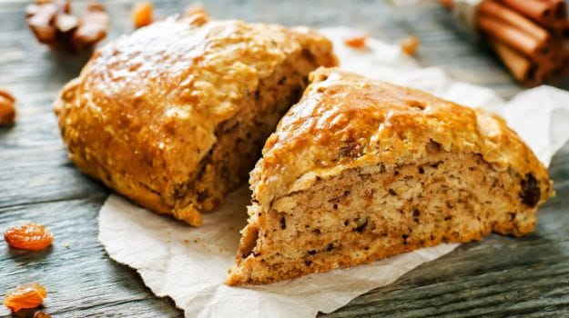 pumpkin oat cake