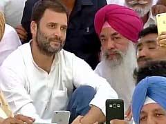 दिल्ली में आज पंजाब कांग्रेस के आला नेताओं से मिलेंगे राहुल गांधी