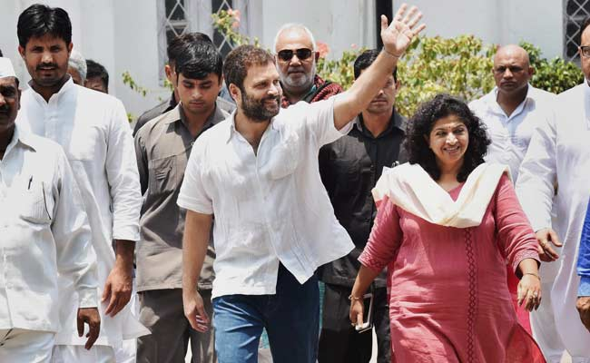 BJP Leader Announces Rs 1 Lakh 'Reward' For Rahul Gandhi's Whereabouts