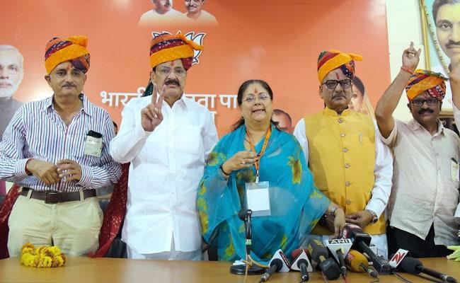 BJP Wins All 4 Rajya Sabha Seats In Rajasthan, Kamal Morarka Defeated