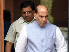 Maritime Terrorism A Big Threat, Says Home Minister Rajnath Singh