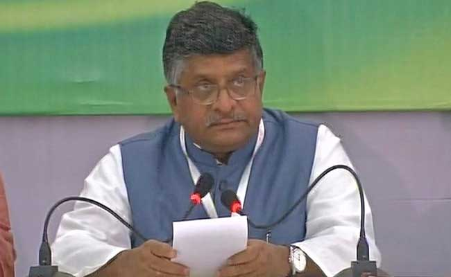 Call Drop Problem Improving, Says Telecom Minister Ravi Shankar Prasad