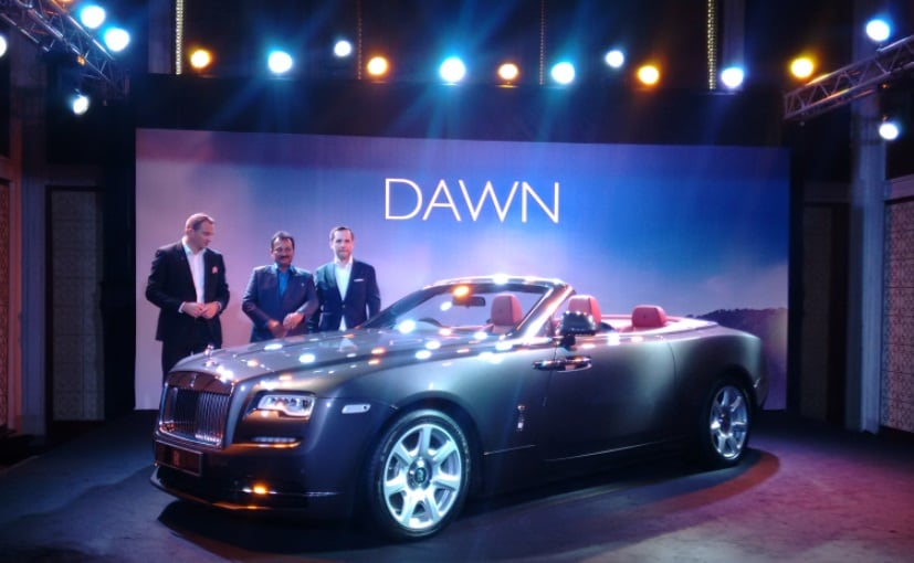 Rolls-Royce Dawn Launched in India; Prices Start at ₹ 6.25 Crore