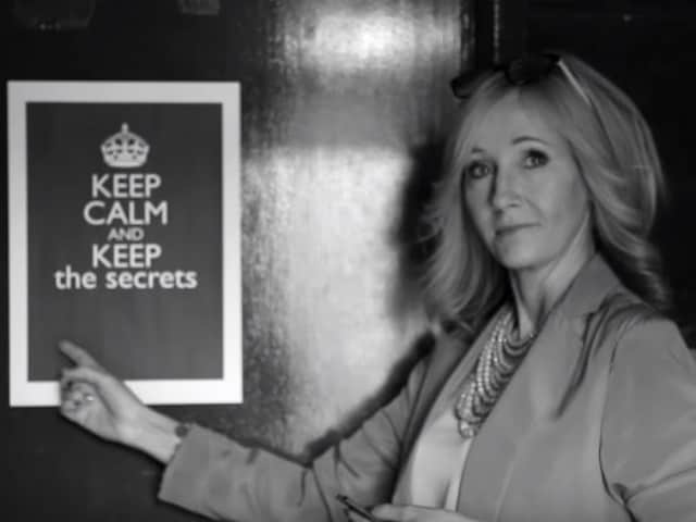 Watching Harry Potter Play? Be Secret Keepers, Not Wormtail, Says Rowling