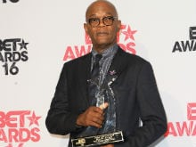 Samuel L Jackson Receives Lifetime Achievement Award at BET