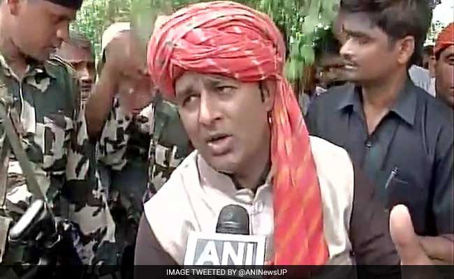 Man Accuses MLA Sangeet Som Of Duping Him Of Rupees 53 Lakh