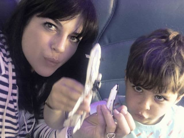Selma Blair Stretchered Off Plane After Mid-Air Meltdown
