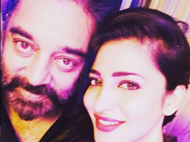 Shruti's Experience of Filming Sabash Naidu With Father Kamal Haasan