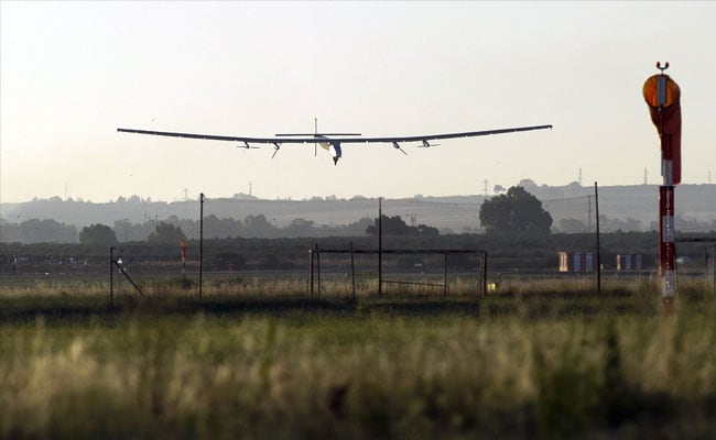 Solar Plane Completes First-Ever Atlantic Flight