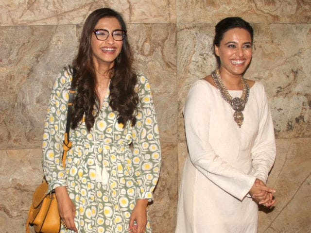 When Swara Bhaskar's Film Made Sonam Kapoor Emotional