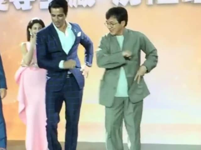 The Moment When Jackie Chan and Sonu Sood Danced Like Nobody's Watching