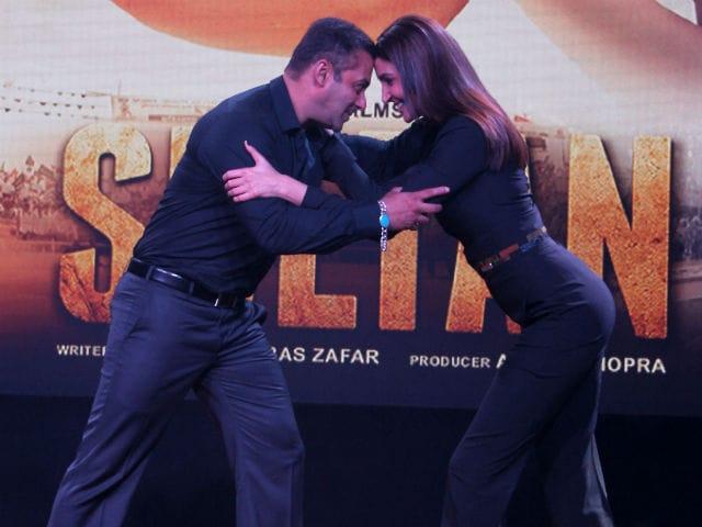 Salman Khan's 'Fight For Love' in New Sultan Stills
