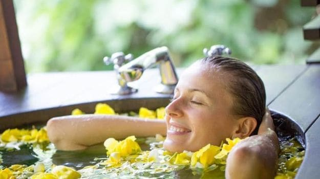 Summer Baths: Soak in Honey, Lemon, Rose, Sea Salts and More