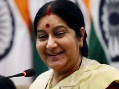 'Stuck On Mars,' He Tweeted Sushma Swaraj. Her Witty Reply Is Viral