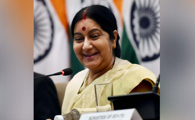 Congress politicising Iraq abductions, Sushma Swaraj says