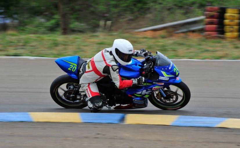 suzuki gixxer cup season 2 race