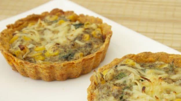 corn tarts, gluten free recipe