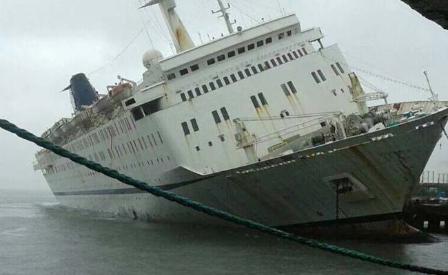 Lashed By Rain, Ship In Goa Hits Sea Bed, Nobody Injured