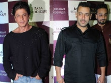 About Last Night: Shah Rukh, Salman Khan at Baba Siddique's <I>Iftaar</i> Party