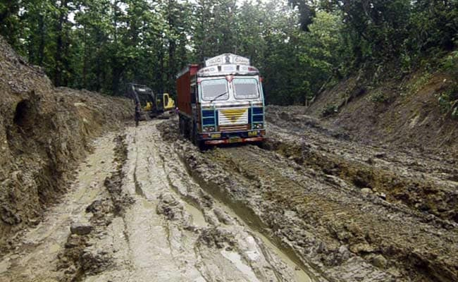 Tripura's Road Link To Rest Of India, A National Highway, Looks Like This