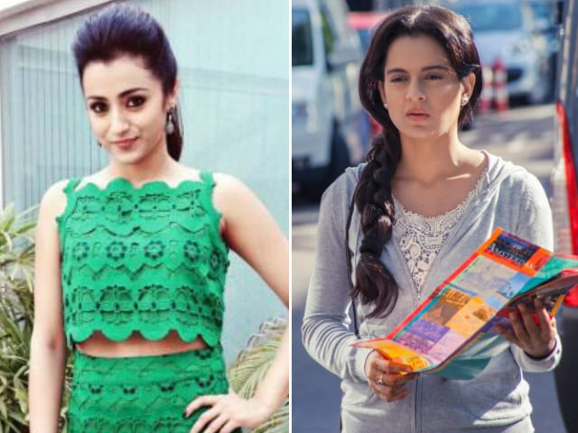 You Can Expect Trisha Krishnan in Tamil Remake of Kangana's Queen